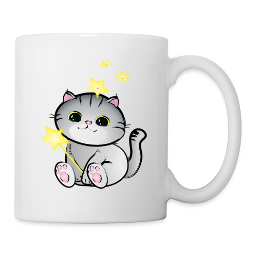 lucky chibi cat - Coffee/Tea Mug