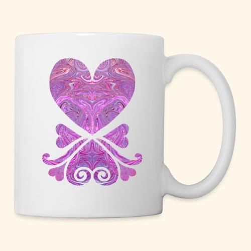 Marbled Hearts - Coffee/Tea Mug