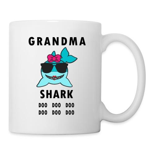 Grandma Shark Doo Doo Doo Funny Shark - Coffee/Tea Mug