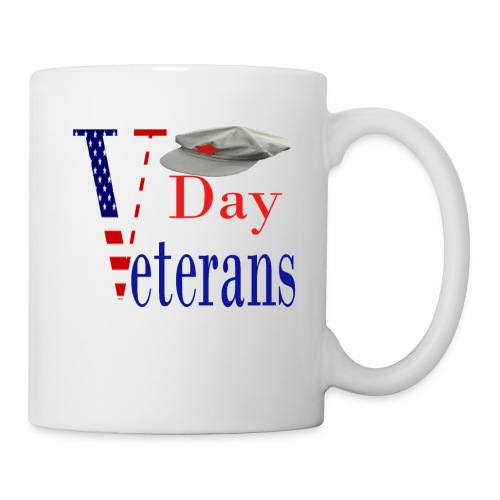 Veterans day men women cute t-shirt - Coffee/Tea Mug