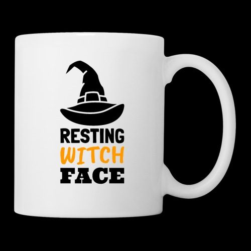 Resting Witch Face | Funny Halloween - Coffee/Tea Mug