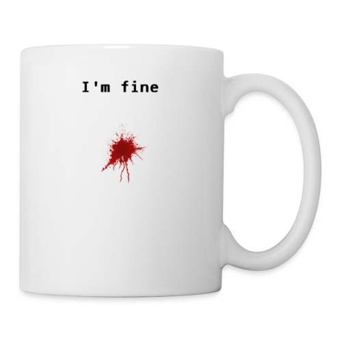 I'm Fine T-shirt - Coffee/Tea Mug