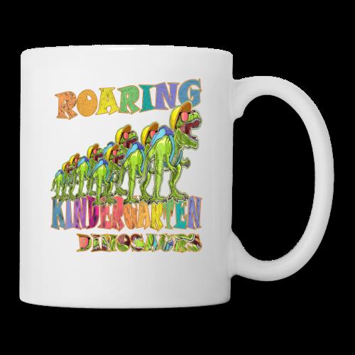 playRN | Roaring Kindergarten Dinosaur T-Shirt - Coffee/Tea Mug