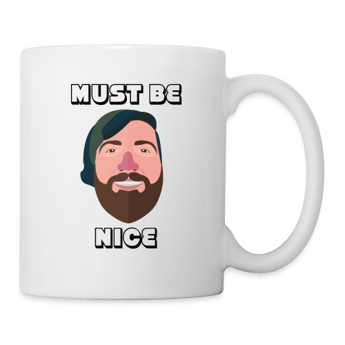 WiLLo Davis Face Must Be Nice - Coffee/Tea Mug