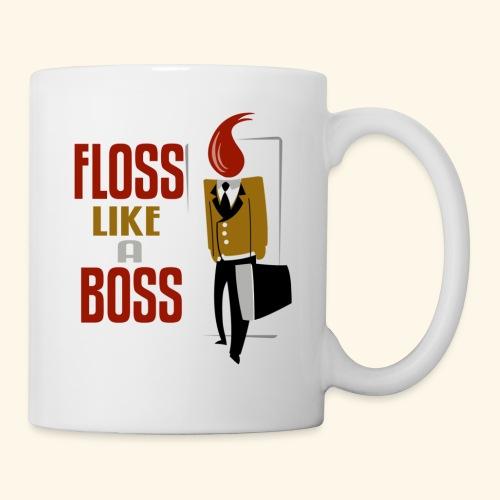 FLOSS LIKE A BOSS - Coffee/Tea Mug