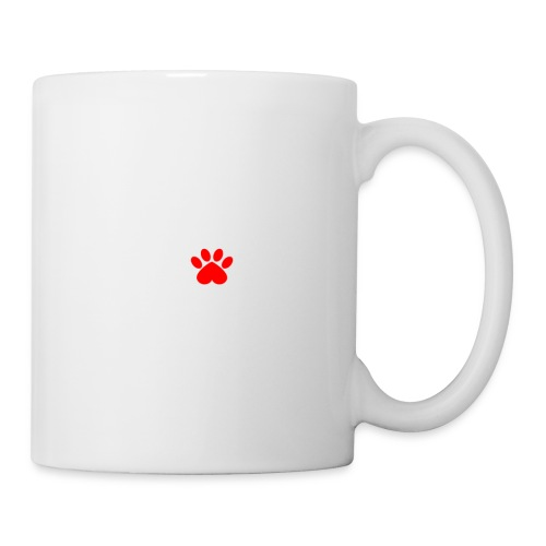 the Road to My Heart Is Paved with Paw Prints - Coffee/Tea Mug