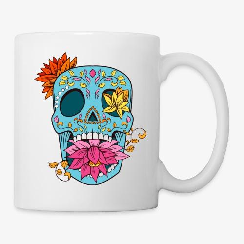 Day of the Dead Sugar Skull T-Shirt - Coffee/Tea Mug