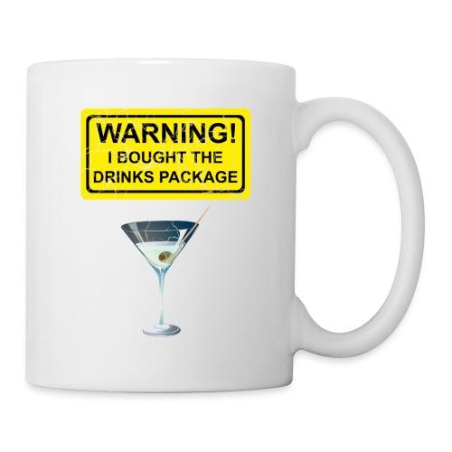 Drinks package shirt - Coffee/Tea Mug