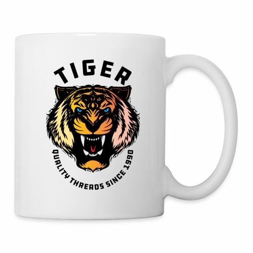 Wild tiger Face Animals Sticker - Coffee/Tea Mug