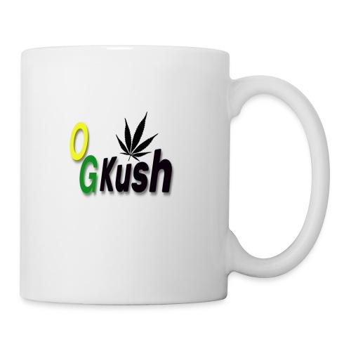 og kush logo - Coffee/Tea Mug