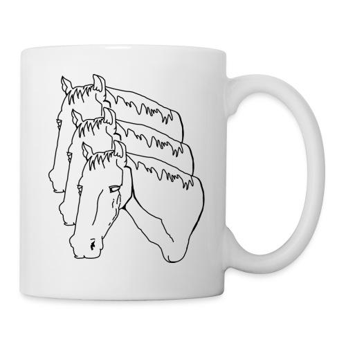 horsey pants - Coffee/Tea Mug