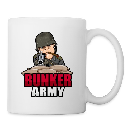 BUNKER ARMY Logo 2 - Coffee/Tea Mug