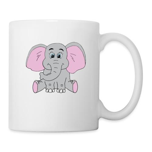 Cute Baby Elephant - Coffee/Tea Mug
