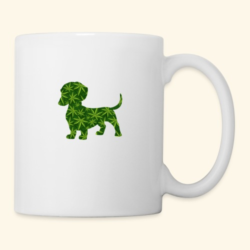 PUFFY DOG - PRESENT FOR SMOKING DOGLOVER - Coffee/Tea Mug
