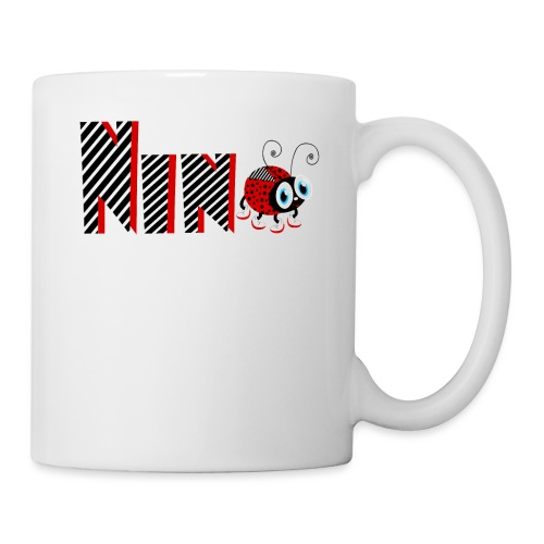 9nd Year Family Ladybug T-Shirts Gifts Daughter - Coffee/Tea Mug