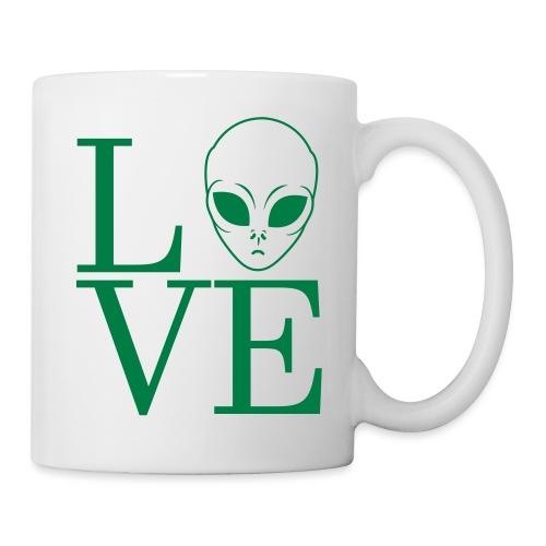 LOVE ALIEN - Coffee/Tea Mug
