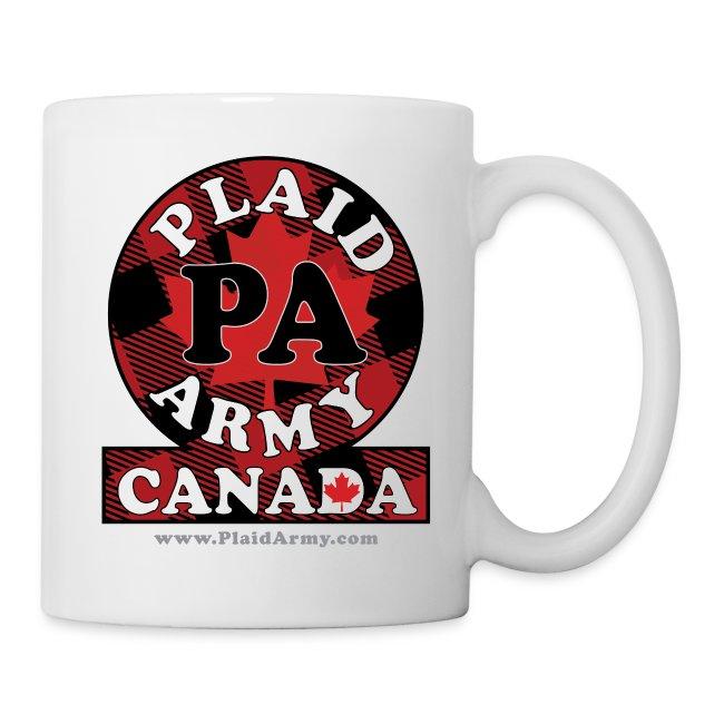Plaid Army Canada crest