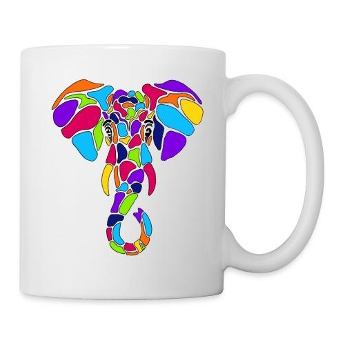 Art Deco elephant - Coffee/Tea Mug
