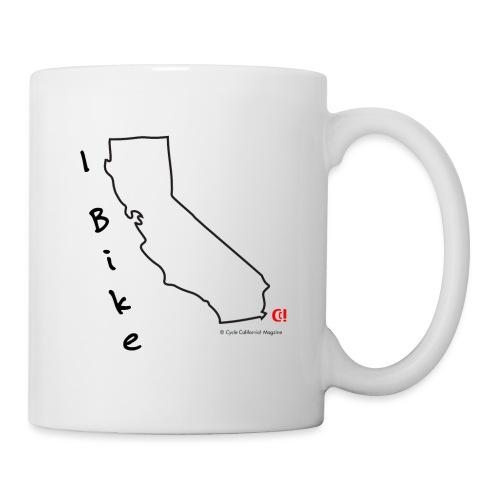 I Bike CA - Coffee/Tea Mug