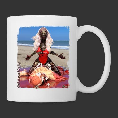 Undead Angels: Zombified Lifeguard Shay - Coffee/Tea Mug