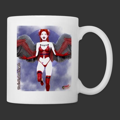 Undead Angels By Moonlight Vamp Cupid Scarlet 1 - Coffee/Tea Mug