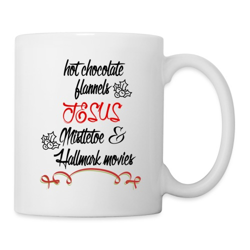 Christmas and Hallmark movies - Coffee/Tea Mug