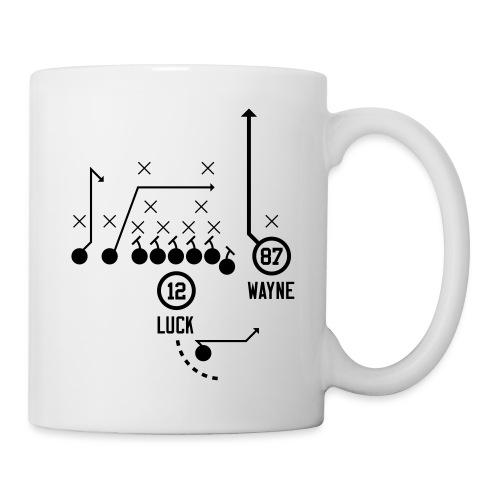 X O Andrew Luck to Reggie Wayne - Coffee/Tea Mug