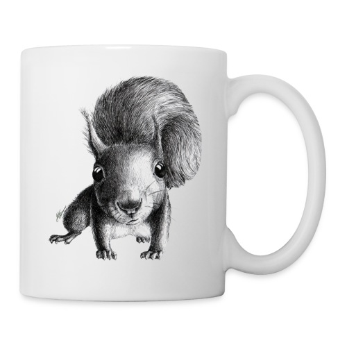 Cute Curious Squirrel - Coffee/Tea Mug