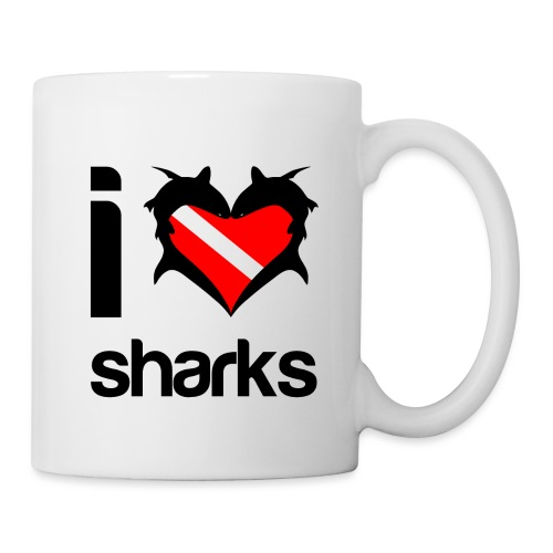 I Love Sharks - Coffee/Tea Mug