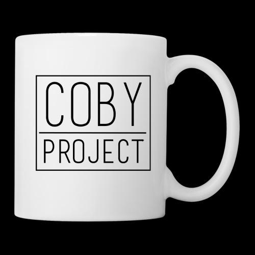 coby logo blk - Coffee/Tea Mug