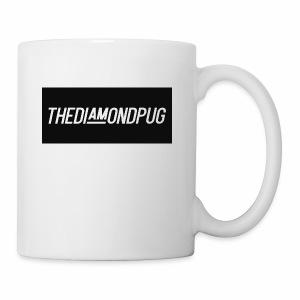 TheDiamondPug Rectangle - Coffee/Tea Mug