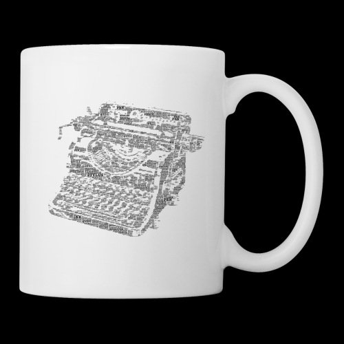 Typewritten Logophile - Coffee/Tea Mug