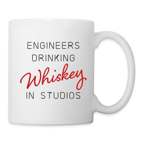 Engineers Drinking Whiskey in Studios - Coffee/Tea Mug
