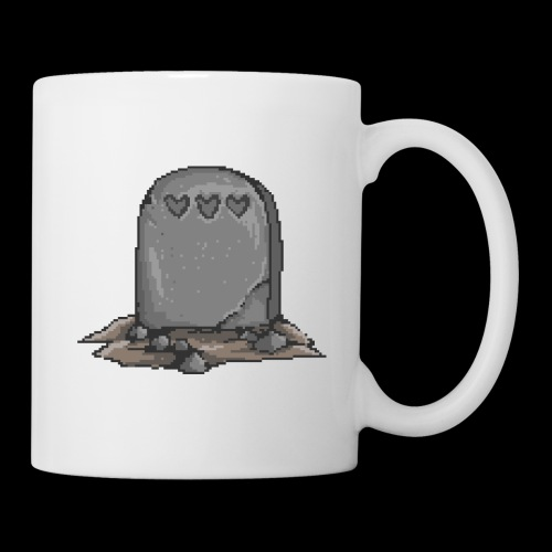 No Life Left | Funny Gamer Grave - Coffee/Tea Mug