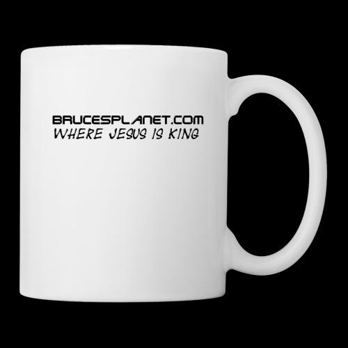 BrucesPlanet Simple - Coffee/Tea Mug