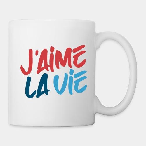 j'aime la vie love life - Coffee/Tea Mug