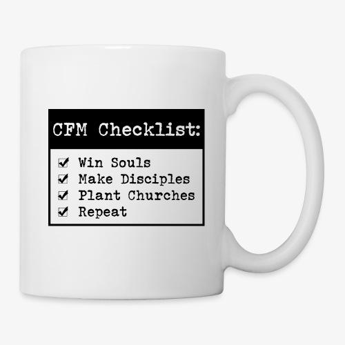 CFM Checklist - Coffee/Tea Mug