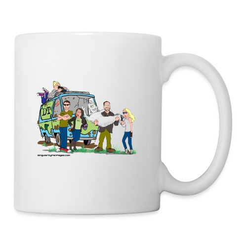 Destination Truth meets Scooby Doo - Coffee/Tea Mug