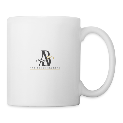 Arbitrage Graphite Logo - Coffee/Tea Mug
