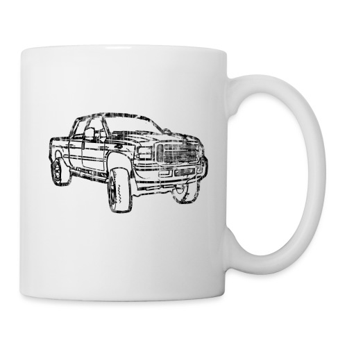 Ford Truck F250 Distressed - Coffee/Tea Mug