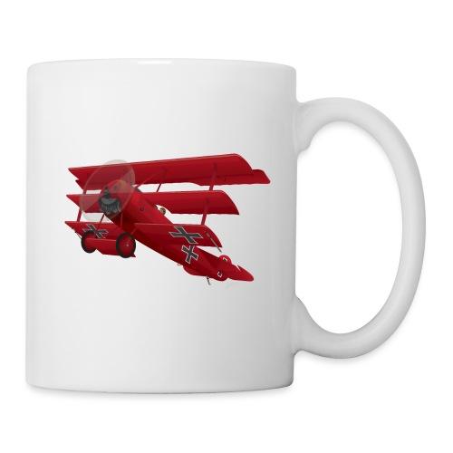 DR-1 Red Baron Triplane WWI Warbird - Coffee/Tea Mug