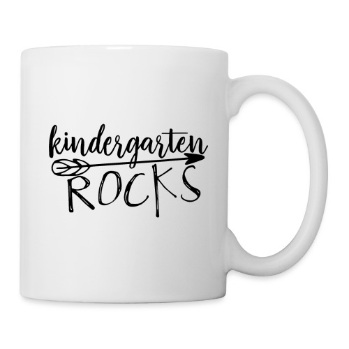 Kindergarten Rocks Teacher T-Shirts - Coffee/Tea Mug