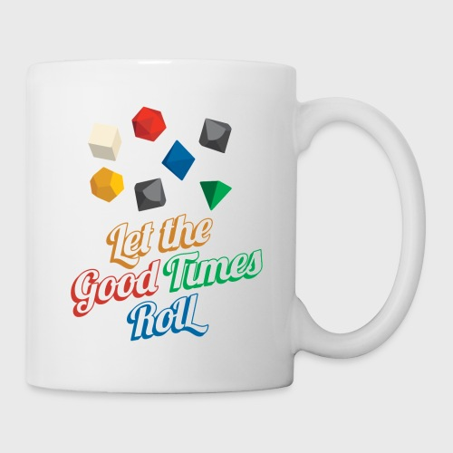 Let the Good Times Roll Dungeons & Dragons Dice - Coffee/Tea Mug