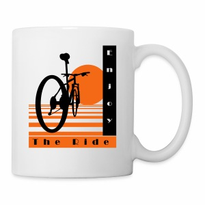 Bicycle Cool Ride T-Shirt - Coffee/Tea Mug