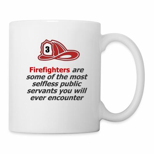 Custom phrase for firefighters - Coffee/Tea Mug