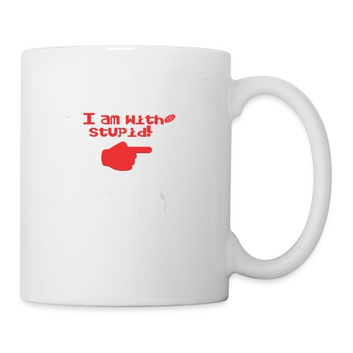 I am with stupid - Coffee/Tea Mug