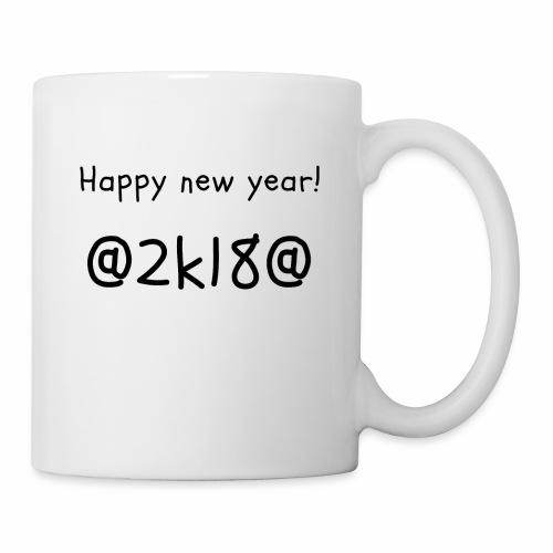 happy new year! 2k18 - Coffee/Tea Mug