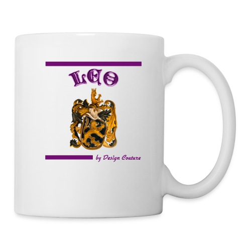 LEO PURPLE - Coffee/Tea Mug