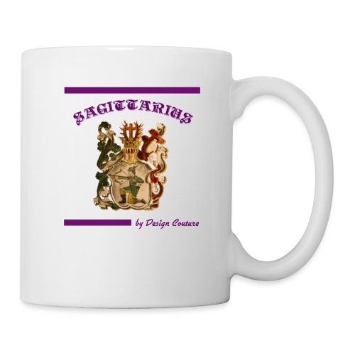 SAGITTARIUS PURPLE - Coffee/Tea Mug