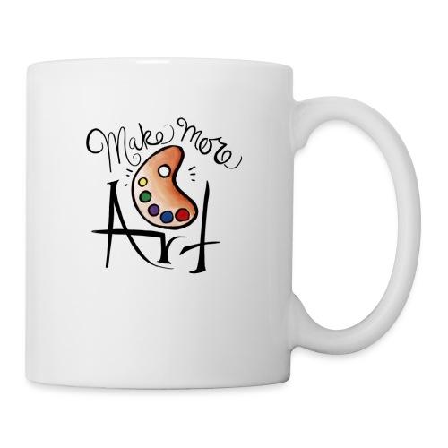 make more art - Coffee/Tea Mug